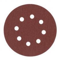 Шлифовальная бумага ø 125 мм - 8 отверстий