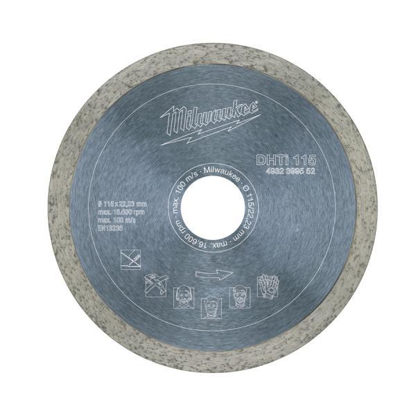 Алмазный диск Milwaukee профессиональная серия DHTi d 125 мм