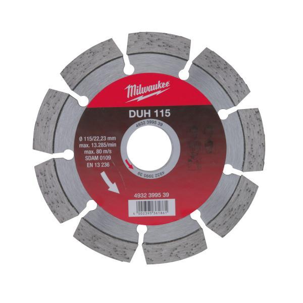 Алмазный диск Milwaukee профессиональная серия DUH d 180 мм