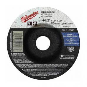 Шлифовальный диск Milwaukee по металлу SG 27/125х6 PRO
