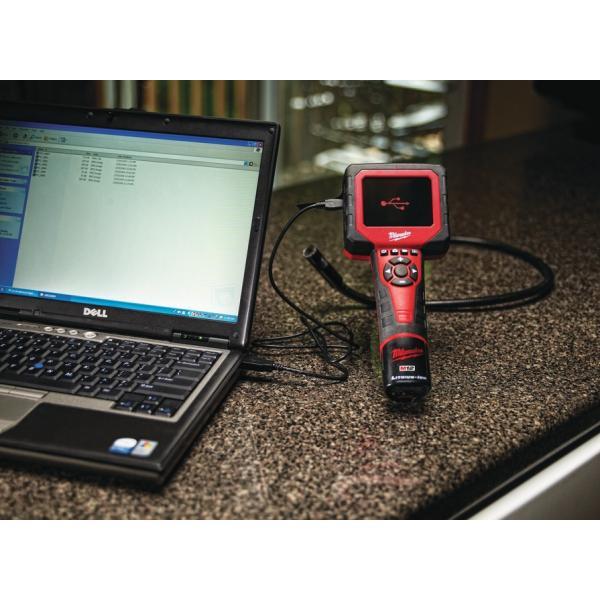 Аналоговая инспекционная камера Milwaukee M12 C12 IC AVD-201C