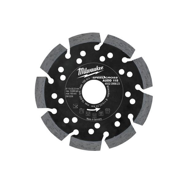 Алмазный диск Milwaukee AUDD d 125 мм