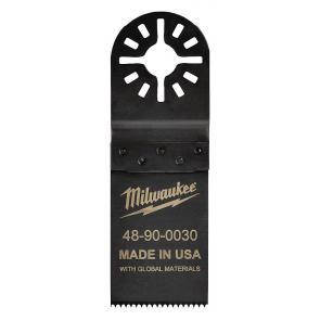 Полотно для мультитул Milwaukee 32 мм для резки древесины и ПВХ 10 шт