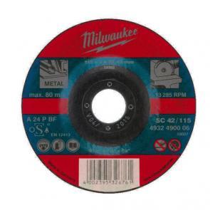 Отрезной диск Milwaukee по металлу SC 42 / 115 X 3 X 22.2 мм