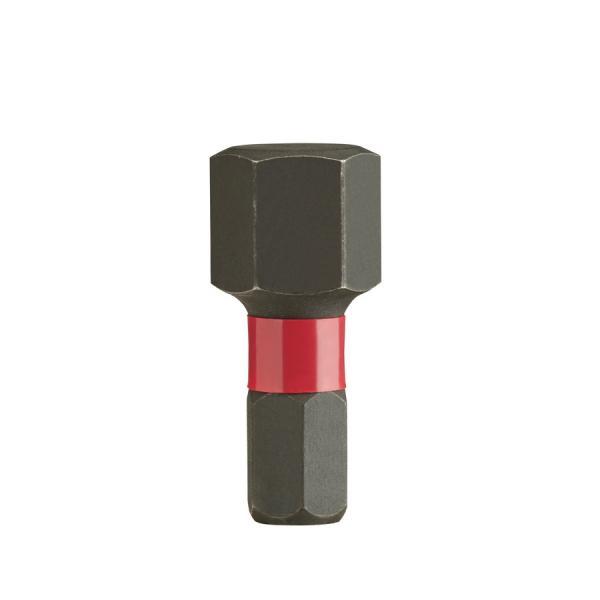 Биты Milwaukee Shockwave IMPACT DUTY™ для шуруповерта Hex 10 X 25 мм