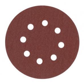 Шлифовальная бумага Milwaukee Ø 125 мм зерно 180 5 шт