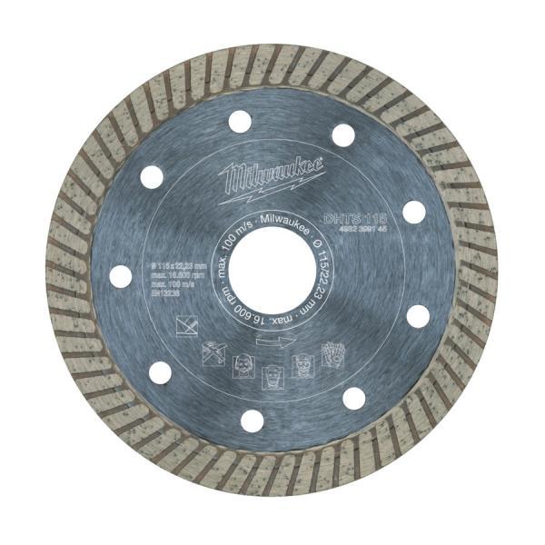 Алмазный диск Milwaukee профессиональная серия DHTS d 125 мм