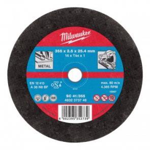Отрезной диск Milwaukee по металлу SC 41