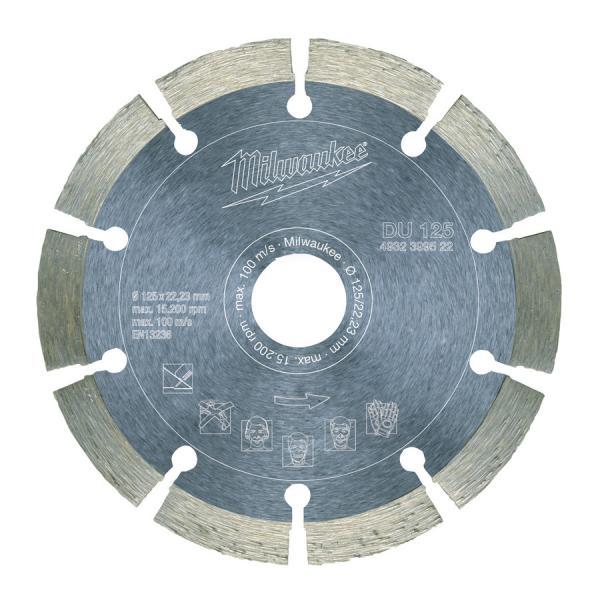 Алмазный диск Milwaukee профессиональная серия DU d 180 мм