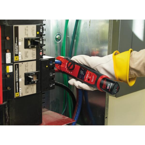 Аккумуляторные вилочные токовые клещи Milwaukee М12 C12 FM-0